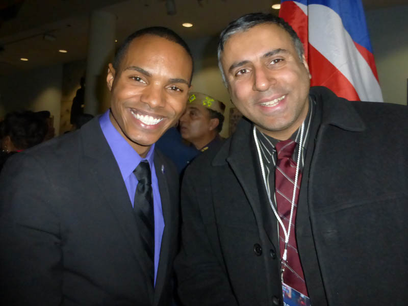 Dr.Abbey with Councilman Ritchie Torres