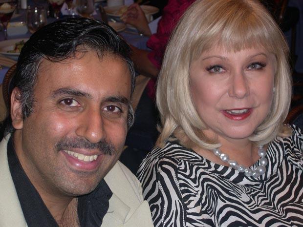 Dr.Abbey  with Cristina Saralegui,Host and  Producer of El Show de Cristina