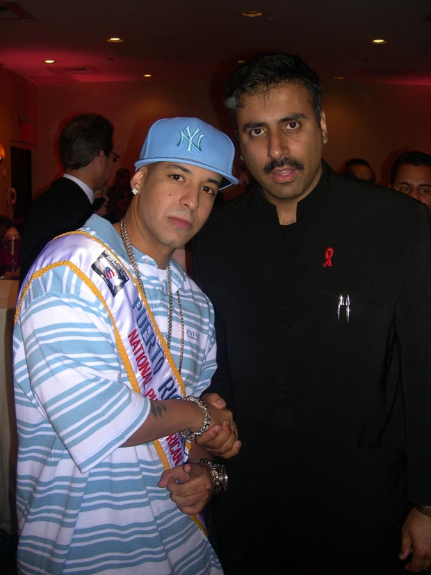 Dr.Abbey with  Daddy Yankee   Reggaeton  Artist