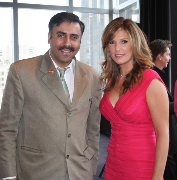 Dr.Abbey with Daisy Fuentes,Model TV Personality  and Entrepreneur