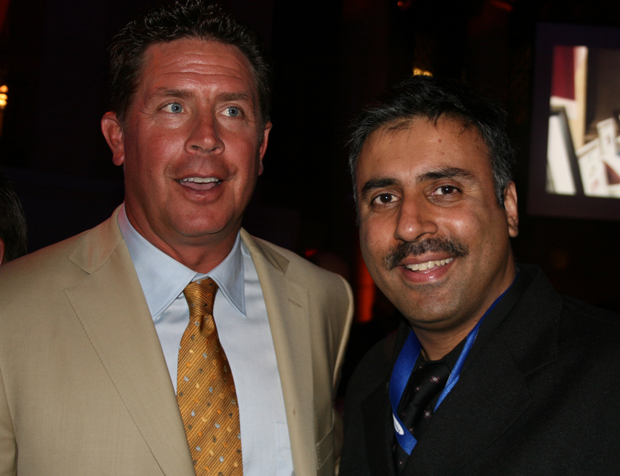 Dr.Abbey with Dan Marino ,NFL Hall of Famer 2009