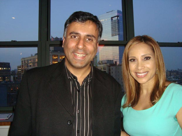 Dr.Abbey with Dari Alexander FOX 5 NY Anchor