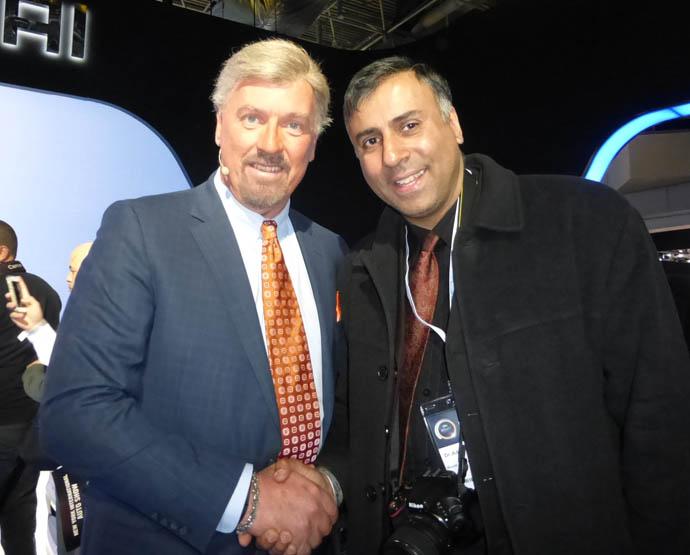 Dr.Abbey with Dave Zuchowski  President Hyundai