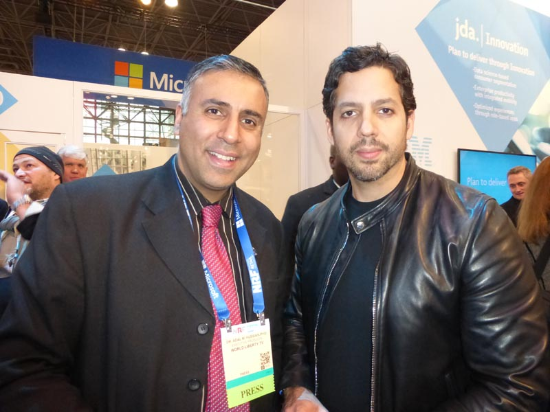 Dr.Abbey with David Blaine Magician