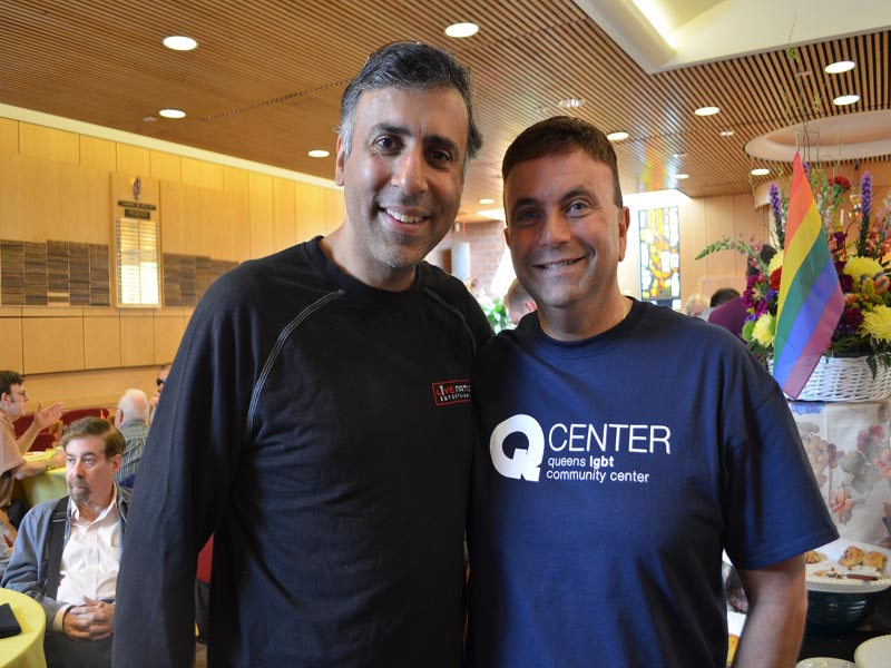 Dr.Abbey with David Kilmnick CEO LGBT Network