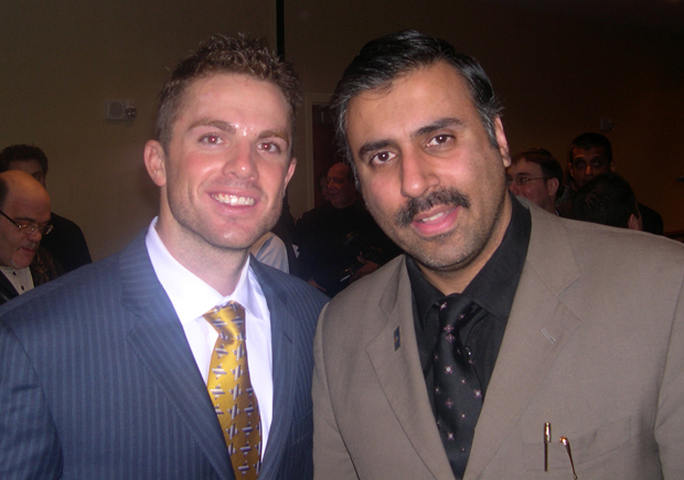 Dr.Abbey with David Wright NY Mets Player