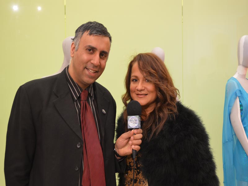 Dr.Abbey with Dee Rivera org of Latinista Fashion week Event