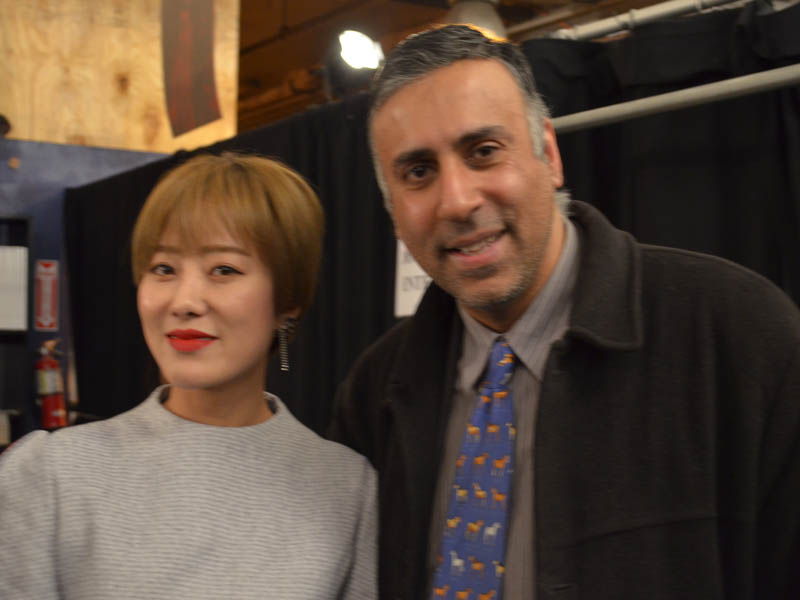 Dr.Abbey with Designer JiYoun Lee of JARRET