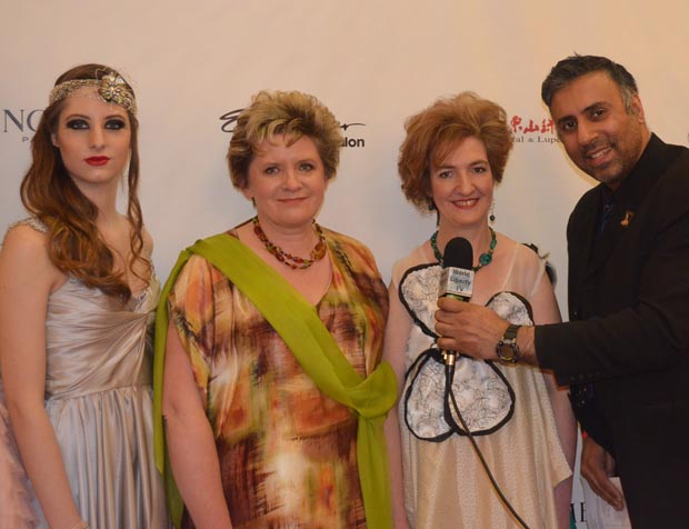 Dr.Abbey with Designer Ruby Johnson from Canada