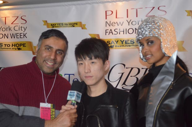 Dr.Abbey with Designer Wang  Hao