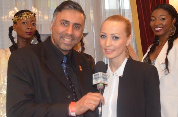 Dr.Abbey with Designer katya Zol from Mongolia