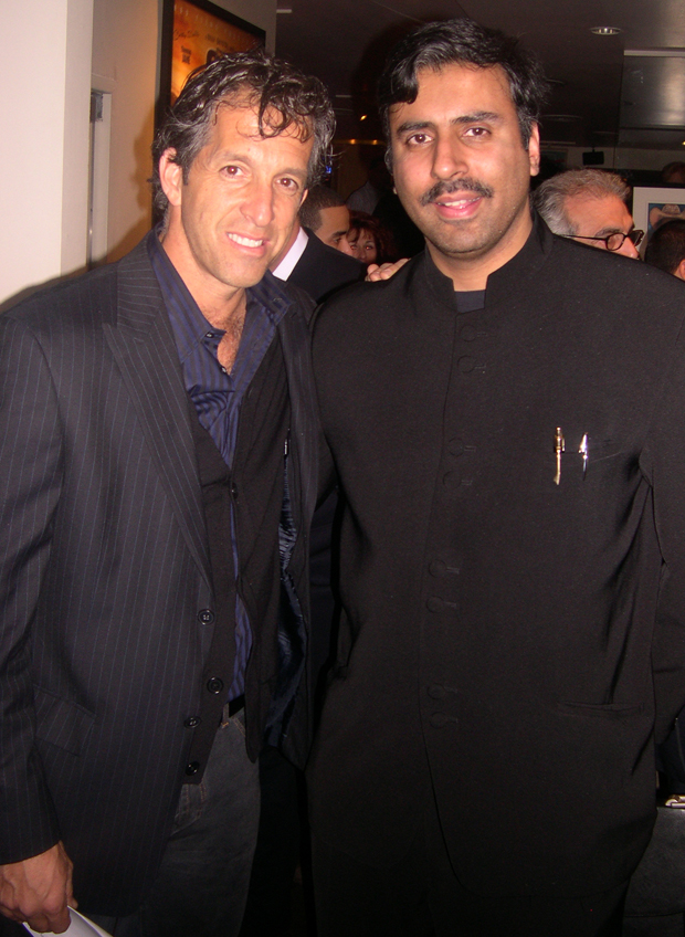 Dr.Abbey with Designer kenneth Cole
