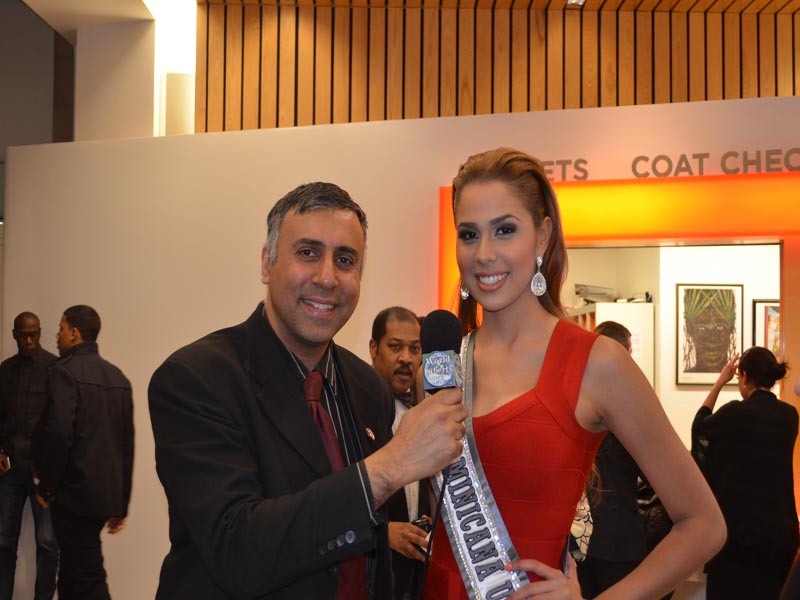 Dr.Abbey with Dominican Beauty Queen