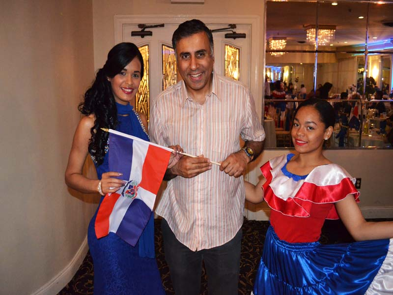 Dr.Abbey with Dominican Model and Entertainer