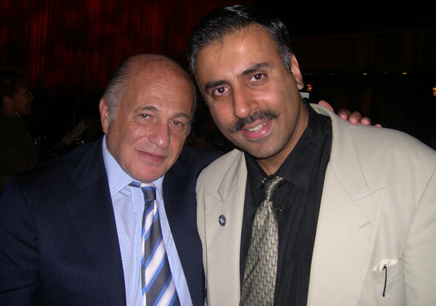 Dr.Abbey with Doug Morris President Universal Music Group