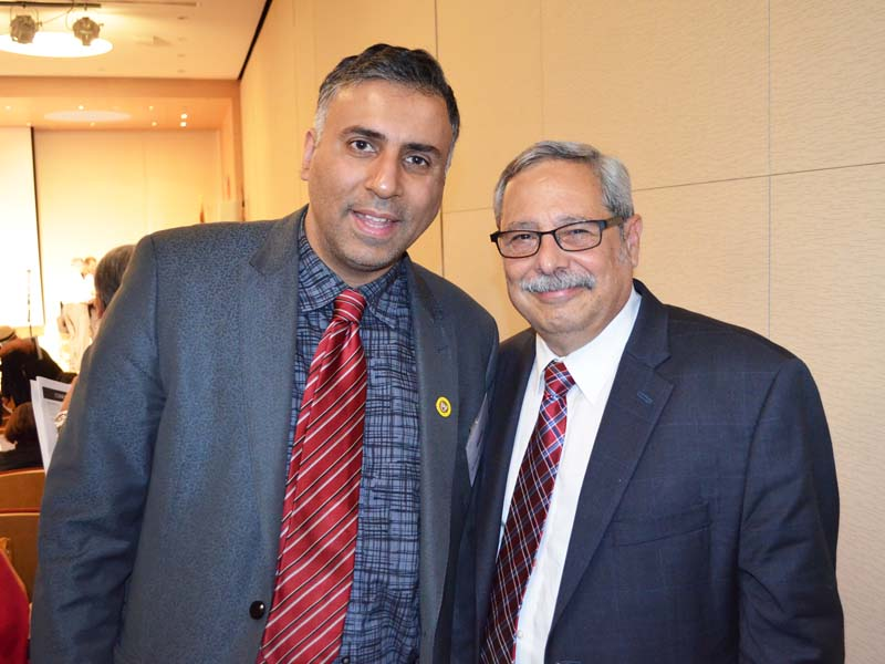 Dr.Abbey with Dr Edwin Melendez Professor Hunters College