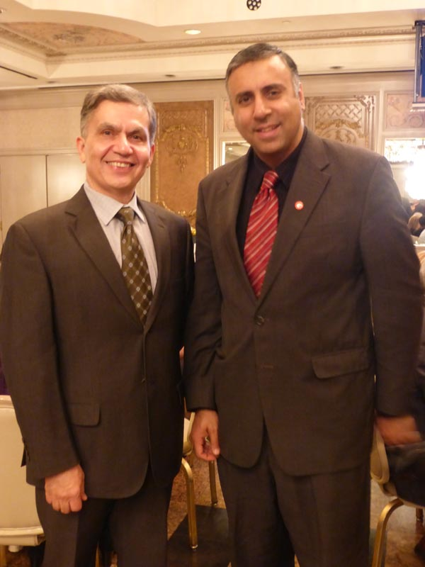Dr.Abbey with Dr Jaime Torres President LHE