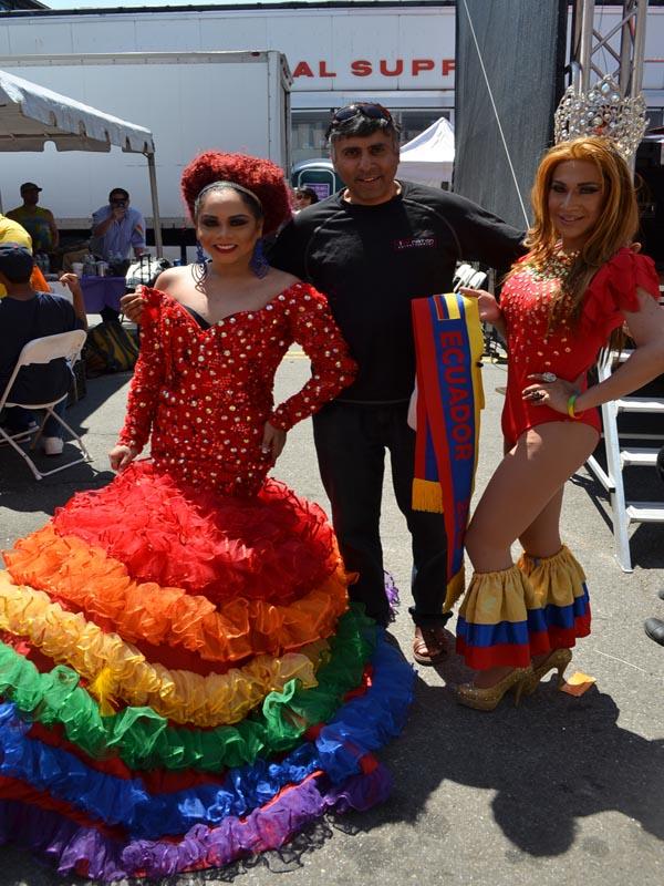 Dr.Abbey with Ecuador beauty Queens