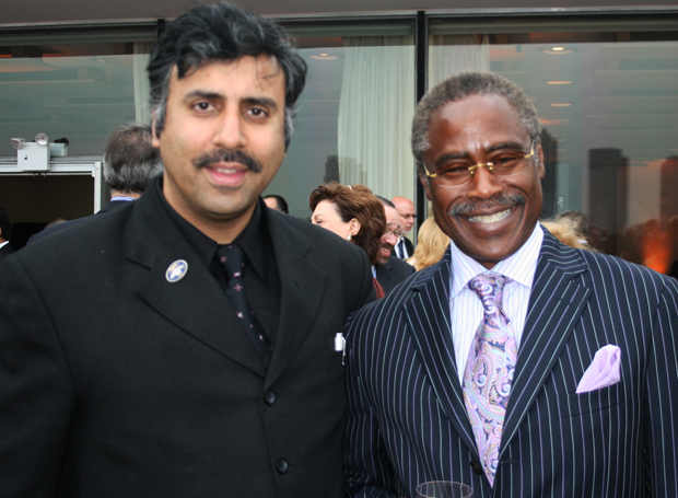 Dr.Abbey with Ed Lewis Founder Essence Magazine