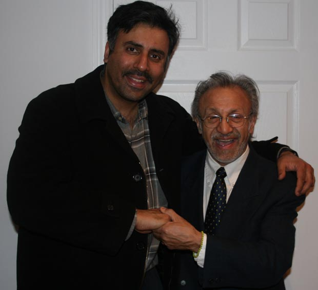 Dr.Abbey with  Eddie Martinez,3 Time Grammy Award Winner