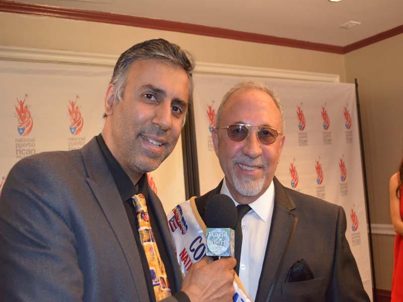 Dr.Abbey with Emilio Estefan