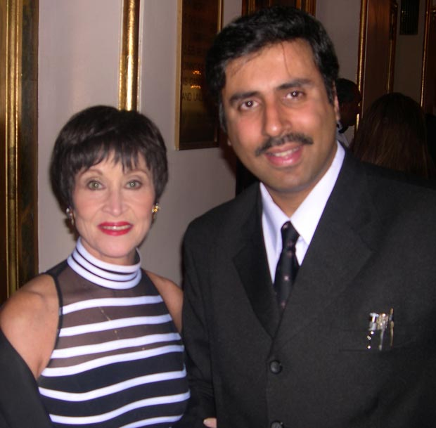 Dr.Abbey with Entertainer  Chita Rivera