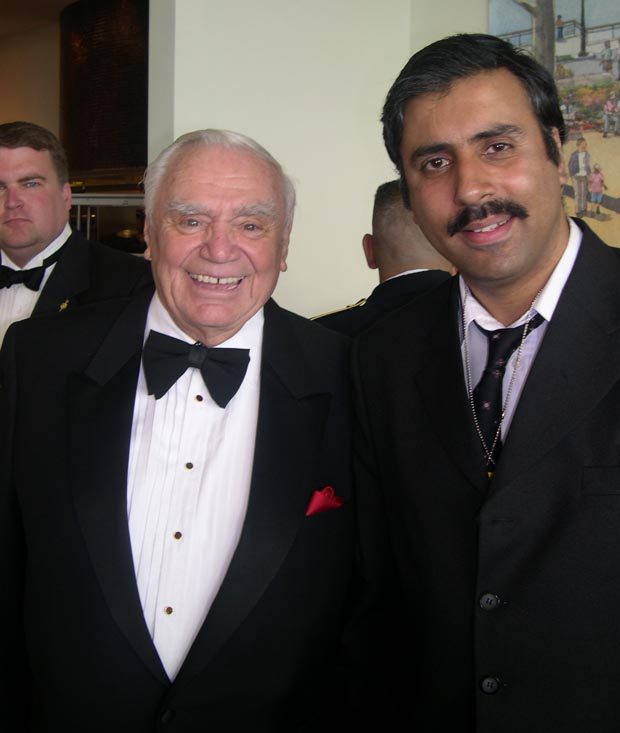 Dr.Abbey with  Ernest Borgnine Oscar Winner
