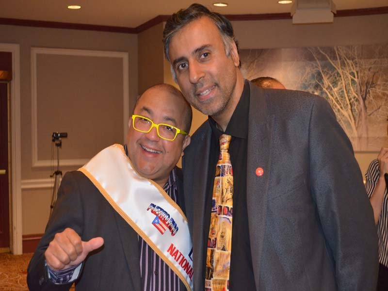 Dr.Abbey with Executive Chef Frank from Sofrito