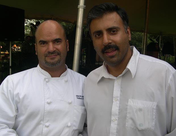 Dr.Abbey with  Filiberto Estevez Executive Chef Gracie Mansion
