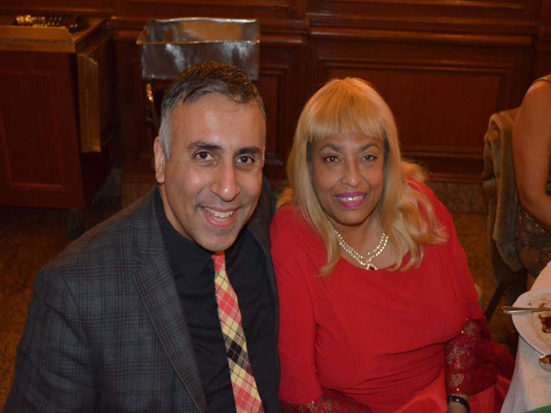 Dr.Abbey with Flo Anthony Celeberity Journalist & Publicist to the Stars