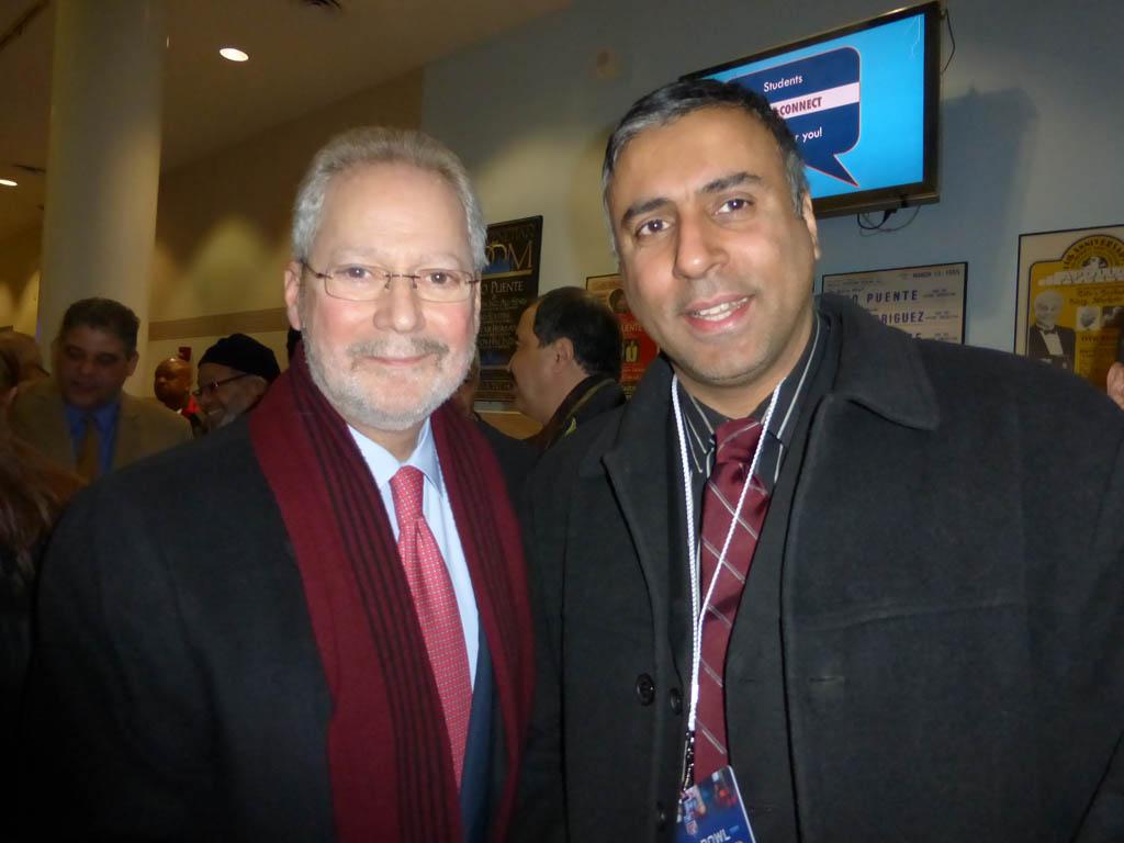 Dr.Abbey with Former Bronx Boro President Fernando Ferrer