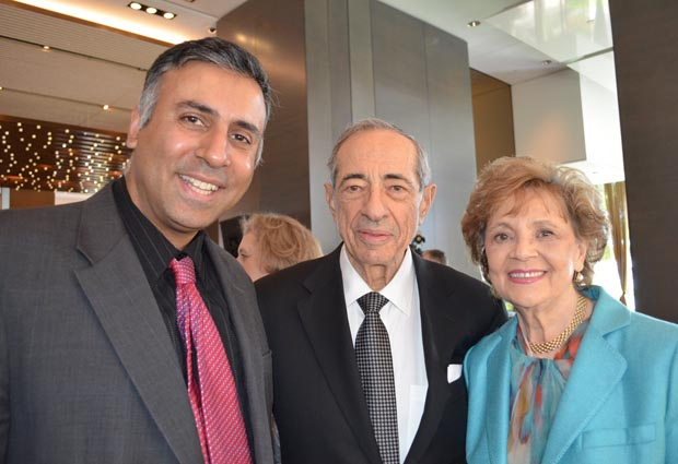 Dr.Abbey with Former GOV of NY Mario Cuomo & his wife Matilda