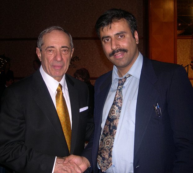 Dr.Abbey with Former Gov of NY Mario Cuomo
