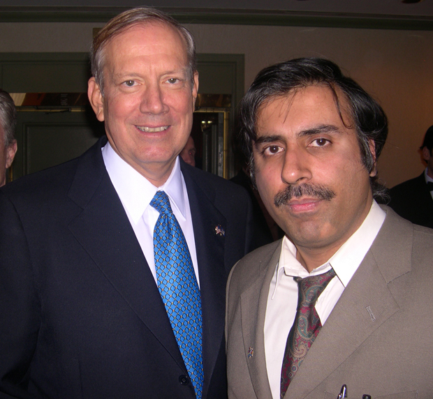 Dr.Abbey with Former Govenor George Pataki