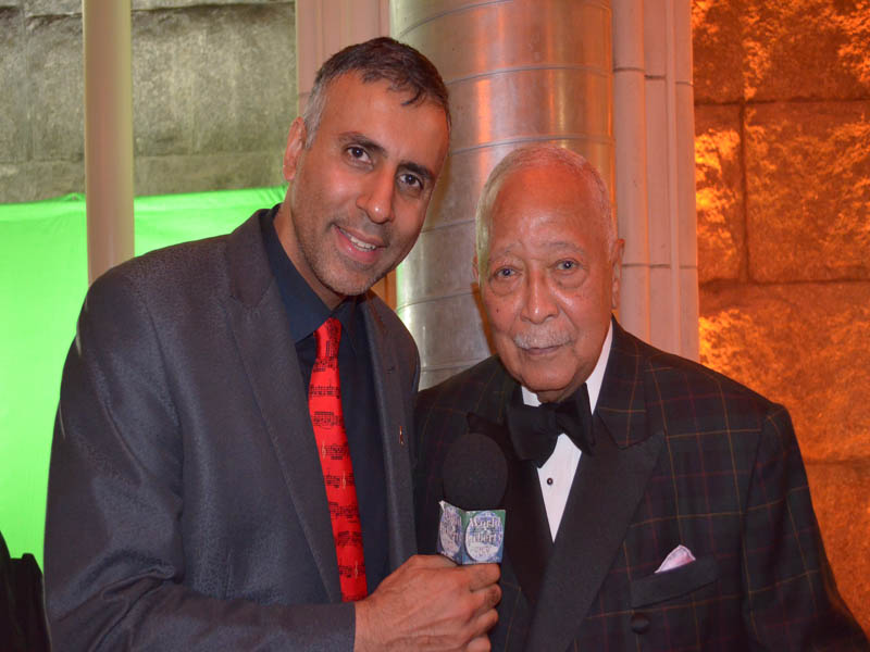 Dr.Abbey with Former Mayor of NYC David Dinkins