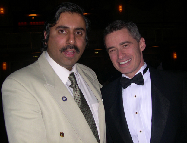 Dr.Abbey with Former NJ Gov James Mcgreevey