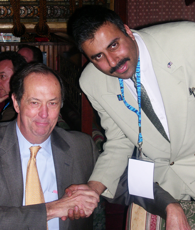 Dr.Abbey with Former NJ Senator Bill Bradley