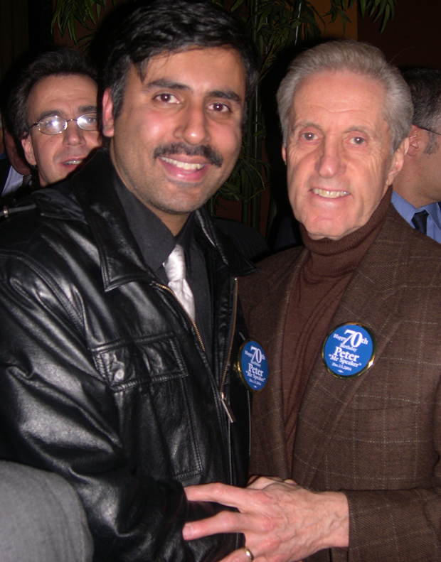 Dr.Abbey with Fred Wilpon Mets Owner
