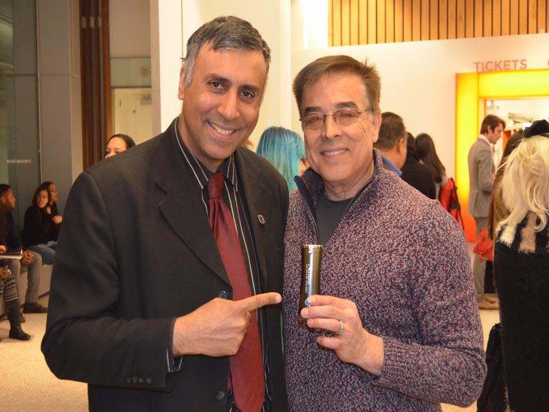 Dr.Abbey with Gabriel Reyes of Nerium Int'l Skincare Products