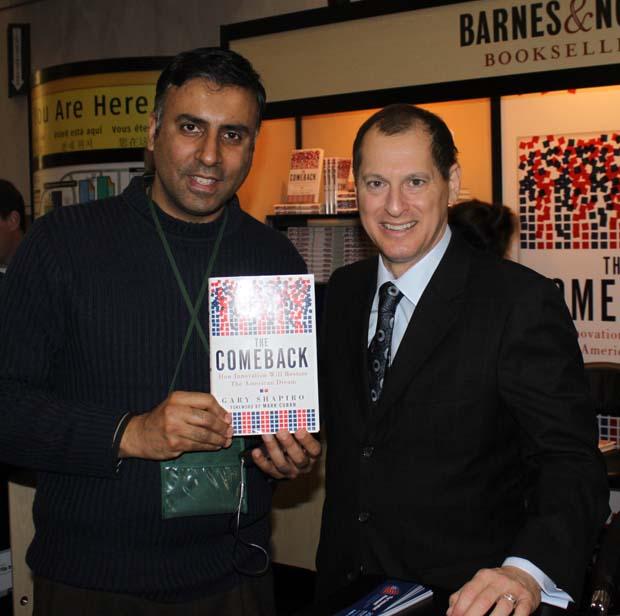 Dr.Abbey with Gary Shapiro ,President CEA Organizer of Consumer Electonics Show