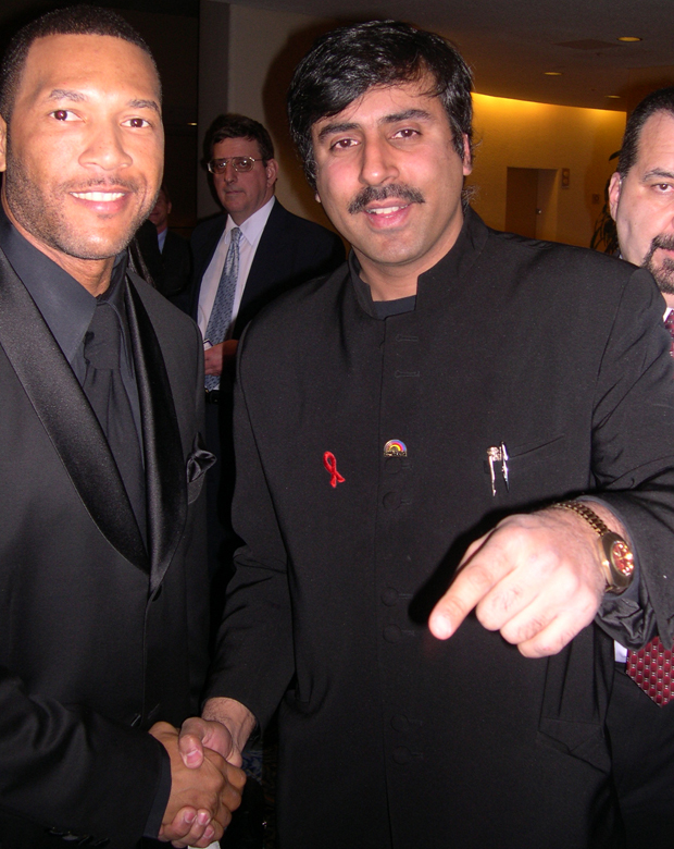 Dr.Abbey with Gary Sheffield  NY Yankees player