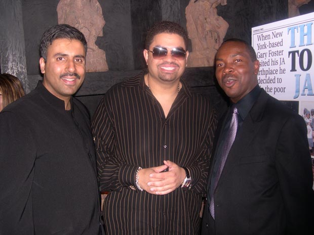Dr.Abbey with Gary  and  Heavy D