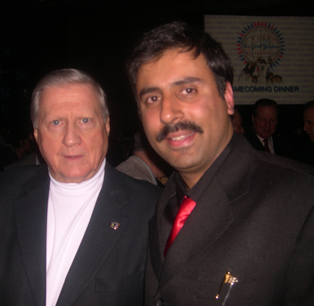 Dr.Abbey with George Steinbrenner, Owner of NY Yankees