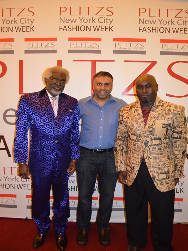 Dr.Abbey with George Thompson & Son Male Designers