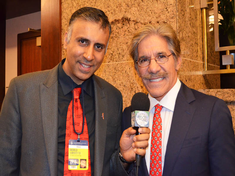 Dr.Abbey with Geraldo Rivera