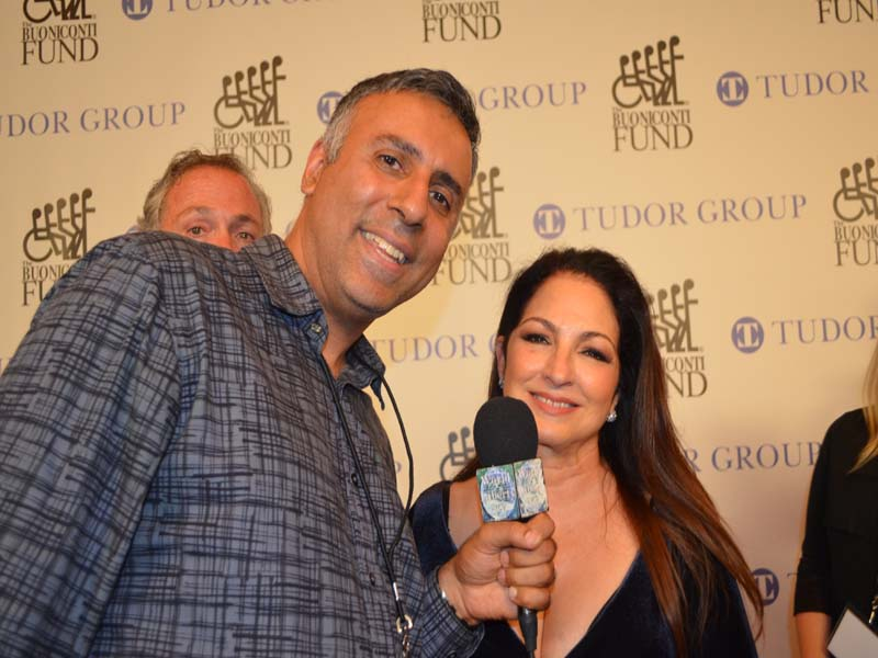 Dr.Abbey with Gloria Estefan Grammy Award winning Singer & Musician