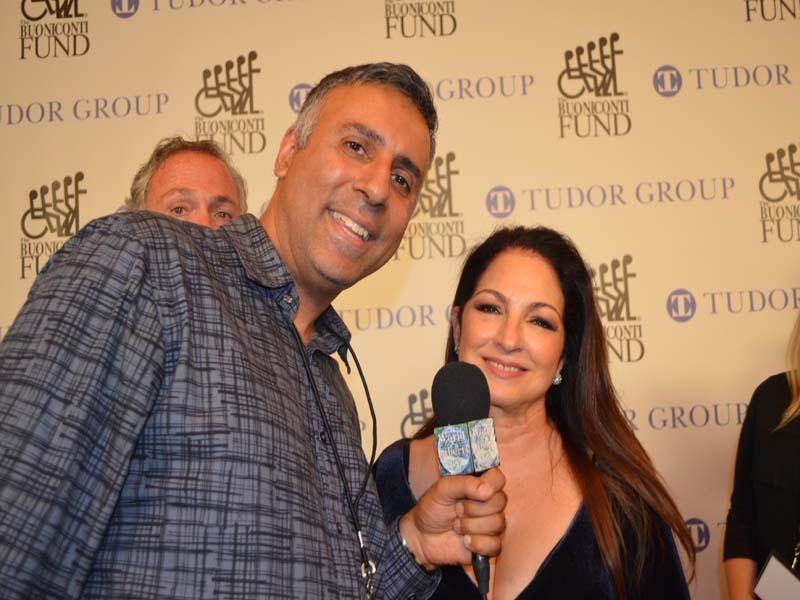 Dr.Abbey with Gloria Estefan Grammy Award winning Singer & Musician