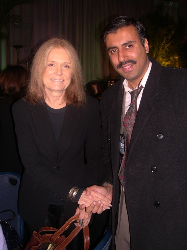Dr.Abbey with  Gloria Steinem