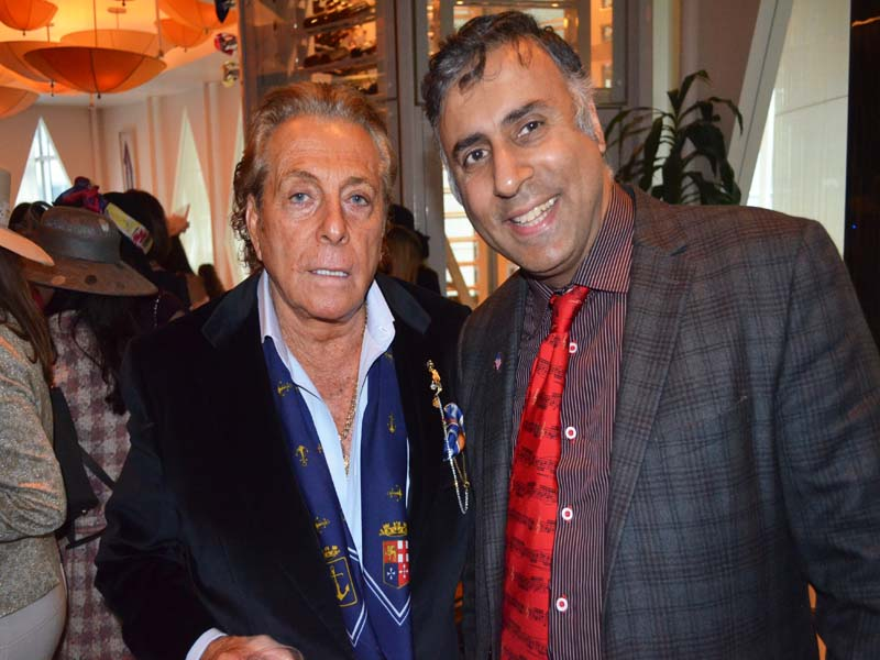 Dr.Abbey with Godfather Actor Gianni Russo