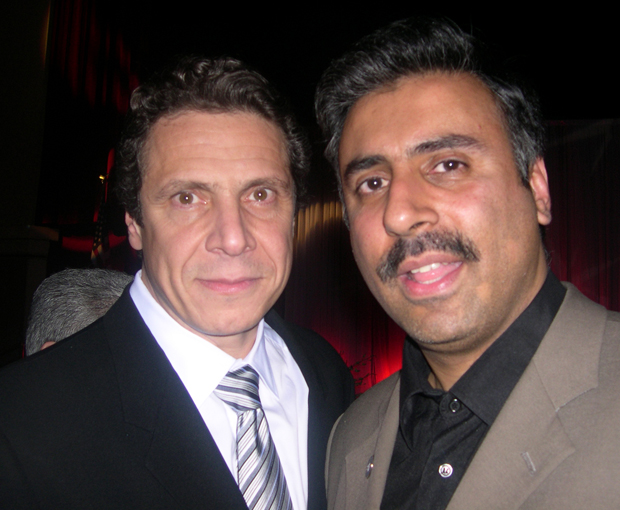 Dr.Abbey with Gov of New York  Andrew Cuomo